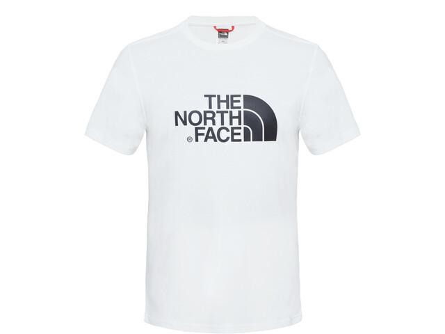 The North Face Easy Camiseta Manga Corta Hombre, tnf white